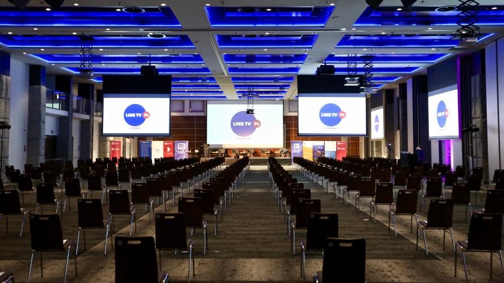 Obsługa techniczna konferencji i innych eventów